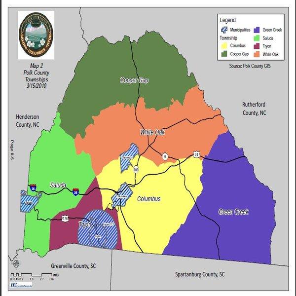 Polk County Zoning Map Map