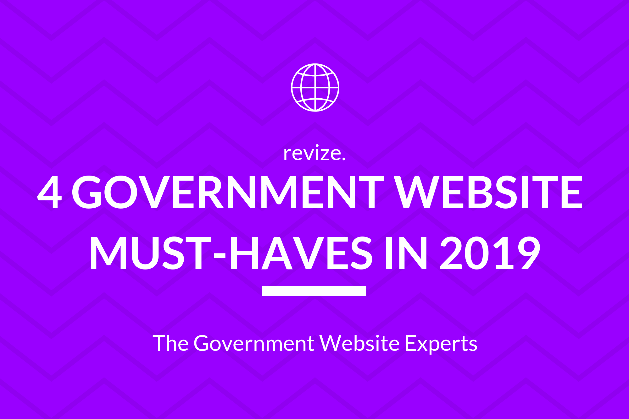 4 Government Website Must-haves in 2019 (Blog Banner)