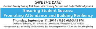 SavetheDate   School Attendance Conference