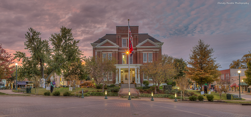 Tipton County Courthouse Fall