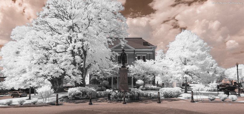 Tipton County Courthouse Infared